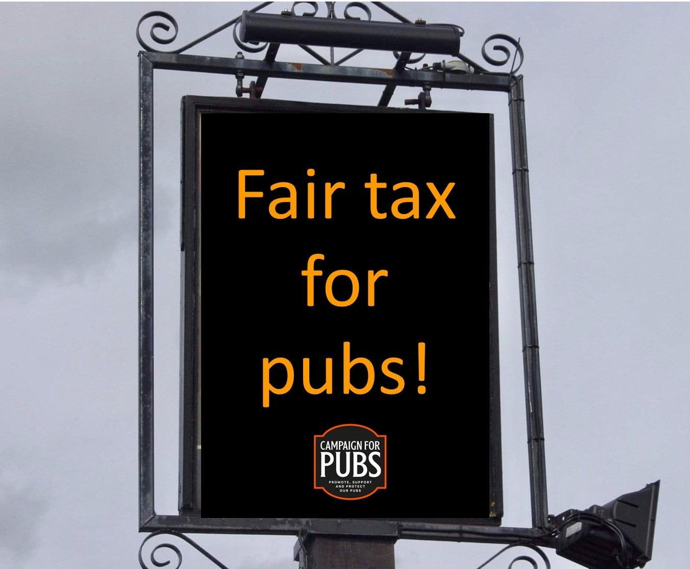 Fair Tax for pubs logo