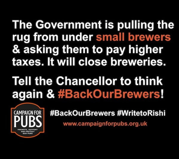 Back Our Brewers Campaign