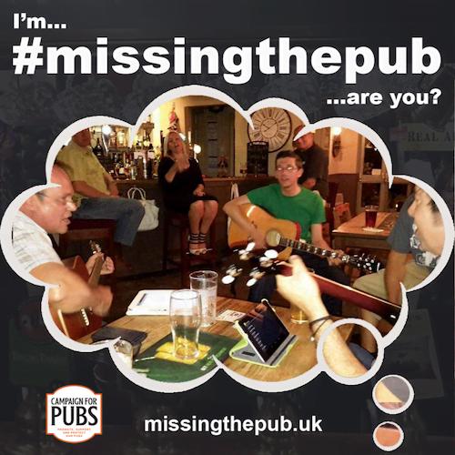 Musicians #missingthepub